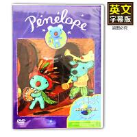 幼儿童英文原版DVD蓝色小考拉Penelope 英语字幕 启蒙早教动画片