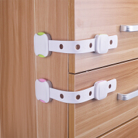 抽屉锁儿童锁婴儿防护开冰箱门多功能宝宝防夹手柜子柜门锁扣SN3089