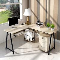 转角电脑桌简约现代书桌简易双人写字台家用桌子多功能台式办公桌