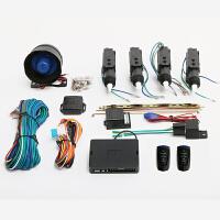 汽车防盗器锁中控锁一控三遥控器报警器暗锁12V通用