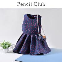 【3件价:108.9元】铅笔俱乐部童装2020春装新款女童连衣裙中大童背心裙儿童洋气裙子