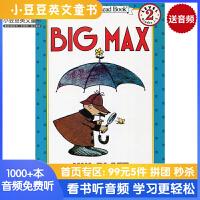 #原版英文童书 Big Max大马克斯 I Can Read,Level 2 汪培�E三阶段 [4-8岁]