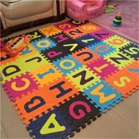 宝宝爬行垫加厚字母数字拼接爬爬垫婴儿拼图游戏垫家用 1.8米*1.8米