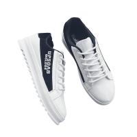 男鞋透气低帮鞋男士运动简约增高休闲鞋韩版原宿板鞋学生帅气鞋子