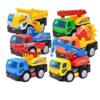 儿童玩具车工程车套装组合挖土车消防车吊车搅拌车挖掘机玩具汽车