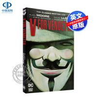 英文原版 DC漫画 V for Vendetta V字仇杀队 漫画 图文版小说故事书