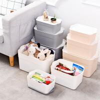 门扉 收纳箱 大容量塑料衣物收纳盒日系杂物玩具整理箱家居日用清洁多功能储物盒