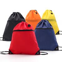 束口袋抽绳防水运动男女双肩包户外旅行背包收纳袋子
