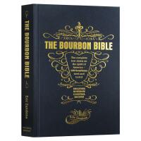 威士忌酒品�b大全 英文原版 The Bourbon Bible �食文化 餐�食�V Eric Zandona 英文版 �M