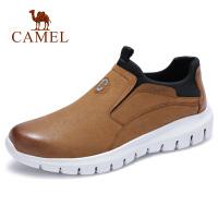 【下单立减120元】camel 骆驼男鞋 秋季新款真皮皮鞋男韩版时尚潮流休闲鞋英伦鞋子男