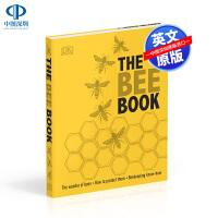 英文版 The Bee Book 蜜蜂书 DK精装儿童科普读物 动物百科 探索蜜蜂的神奇之处,以及如何为后代保护它们
