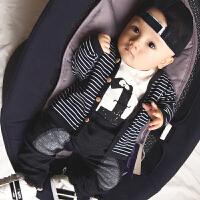 婴儿童运动开衫外套装卫衣服0岁6个月1秋冬装3婴幼儿宝宝春秋装