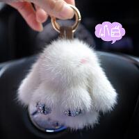 汽车钥匙扣挂件可爱女款高档饰品个性创意奥迪奔驰小车锁匙链挂绳