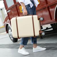 复古旅行箱万向轮静音拉杆箱男行李箱女子母箱20寸登机箱密码皮箱