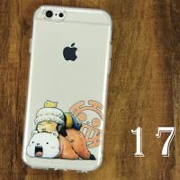 海贼王动漫手机壳iphone6s保护套5se路飞oppor9苹果7plus防摔软壳