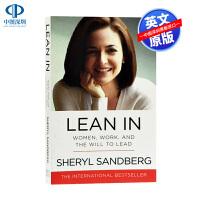 英文原版 向前一步 Lean In 英国版 谢丽尔桑德伯格Sheryl Sandberg 欢乐颂安迪 Facebook首