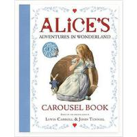 【限量现货】英文原版Alice's Adventures in Wonderland Carousel Book 爱丽丝漫游仙境 3D旋转立体剧场书 英国进货 礼品书