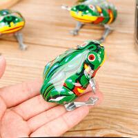 萌味 发条青蛙 儿童益智发条青蛙小玩具批发铁皮跳跳蛙地摊货源儿童礼物奖品