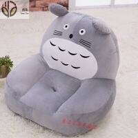 卡通懒人沙发榻榻米猫爪可爱小沙发床上靠背椅子单人可折叠椅休闲躺椅床上飘窗坐垫小沙发