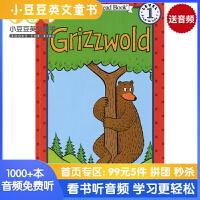 英文绘本 原版进口 Grizzwold 小熊格雷兹伍德 汪培�E阶段 I Can Read [4-8岁]