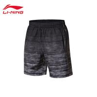 李宁羽毛球比赛裤男士新款羽毛球系列抗静电男装梭织运动裤AAPN261