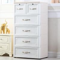 收纳箱抽屉式收纳柜子 欧式塑料宝宝衣柜儿童储物柜婴儿衣服整理柜抖音同款