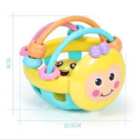 【支持礼品卡】儿童软胶可牙咬摇铃男女宝宝0-1岁3婴幼儿蜜蜂手摇铃5kg