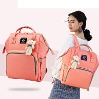 新款妈咪包双肩包多功能大容量时尚妈咪袋孕妇外出旅行背包母婴包