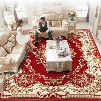 ???欧式地毯客厅沙发茶几垫家用卧室满铺房间长方形床边简约现代美式 3×4米 420纬加捻12毫米