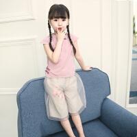 女童夏装新款套装童装韩版儿童汉服女孩中国风唐装古典风