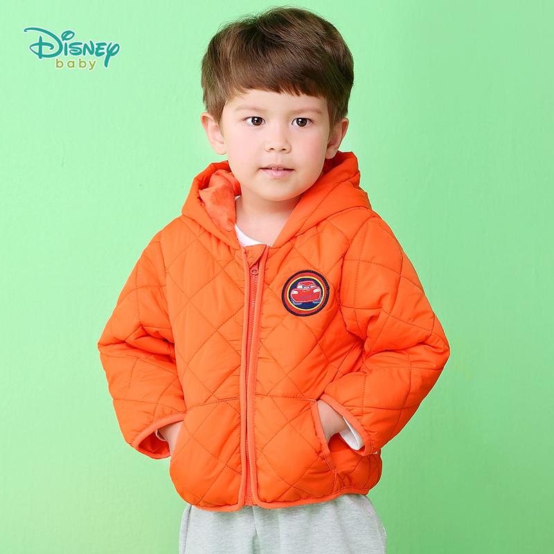 【2件3折到手价:84.6】迪士尼Disney童装 男童菱格连帽棉服冬季加厚保暖外出服儿童时尚外套三层御寒194S1351 加厚保暖,柔软舒适