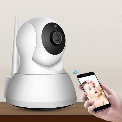 【支持礼品卡】无线摄像头wifi智能1080p网络远程手机高清夜视家用室内监控器4af 默认发 (64GB)清晰度1080p焦距(6mm)