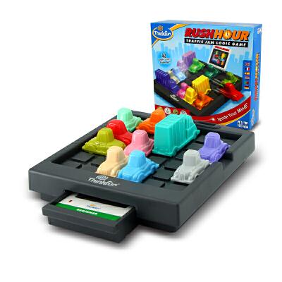 thinkfun塞车时间儿童益智玩具4-6男孩亲子智力STEM玩具女孩8岁