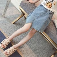 童装女童夏装牛仔半身裙儿童夏季短裙中大童