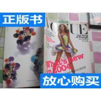 [二手旧书9成新]VOGUE JANUARY 2004 /VOGUE 杂志社 VOGUE 杂志?