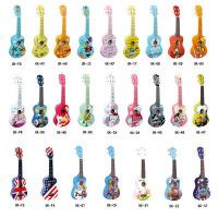 尤克里里21寸四弦夏威夷小吉他卡通儿童初学Uklele