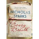 英文原版 每次呼吸 Nicholas Sparks新作 浪漫小说 Every Breath