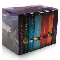 英文原版英版 哈利波特小说 Harry Potter 1-7故事全集礼盒装JK 罗琳 死亡圣器 魔法石 密室 火焰杯