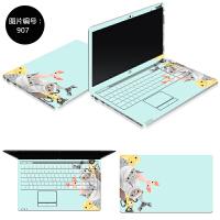 小米air12笔记本贴纸联想小新经典版310电脑贴膜15.6寸外壳保护膜