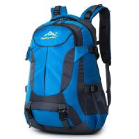 户外登山包50L大容量防水旅游旅行背包男女双肩包男士运动骑行包