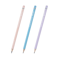 金万年G-2621 粉彩色 三角形笔杆 木头铅笔 学生文具 一盒12支价钱
