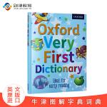 儿童英文原版 牛津启蒙图画图解字典辞典 Oxford Very First Dictionary 英英词典 进口英语学