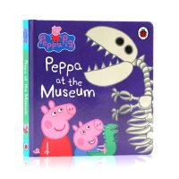 现货英文原版 小猪佩奇去博物馆 Peppa Pig: Peppa at the Museum 粉红猪小妹 低幼儿童英语启