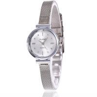 合金细网带手表女士手表学生手表网带时尚石英表