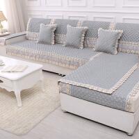 木儿家居 舒适透气沙发垫麻布沙发罩套组合沙发套    麻布沙发垫