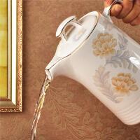 景德镇陶瓷凉水壶 瓷器泡茶壶大容量耐热耐高温家用茶壶夏季