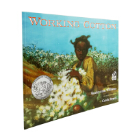 现货 进口英文原版绘本 Working Cotton 摘棉花的故事 凯迪克大奖银奖绘本 平装