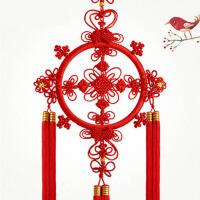 中国结挂件家居客厅卧室玄关手工编织挂饰乔迁礼品 四季如意
