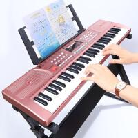 儿童电子琴61键初学女孩多功能3-6-12岁宝宝音乐早教玩具钢琴
