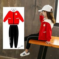 女童秋装套装中大童儿童秋季时髦洋气衣服两件套